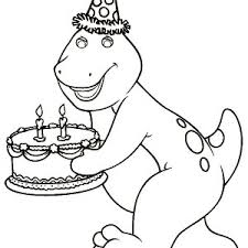 Barney Read A Book For Ba Bop Coloring Pages Best Place To Color
