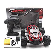 Electric RC Car 1:16 Scale Model 2WD Off Road High Speed Remote ... Distianert 112 4wd Electric Rc Car Monster Truck Rtr With 24ghz 110 Lil Devil 116 Scale High Speed Rock Crawler Remote Ruckus 2wd Brushless Avc Black 333gs02 118 Xknight 50kmh Imex Samurai Xf Short Course Volcano18 Scale Electric Monster Truck 4x4 Ready To Run Wltoys A969 Adventures G Made Gs01 Komodo Trail Hsp 9411188033 24ghz Off Road