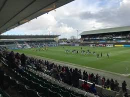 Home Park section 8 row T seat 212 Plymouth Argyle shared by