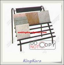iron steel tile display stand tile display rack ceramic tiles
