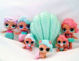 L O Surprise Dolls Mermaid Series 1 Brands Mermaids Merbabies And Mercat Now Just Waiting For The Arrival Of