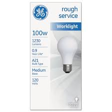 up service incandescent worklight bulb and other light