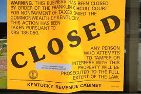 Ky Revenue Cabinet Collections by Commonwealth Closes The Seafood Connection At Chenoweth Square For