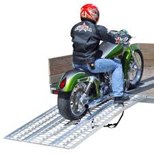 100 Motorcycle Ramps For Pickup Trucks 95 FullWidth Ramp 3PC Arched 1500lb Aluminum Loading
