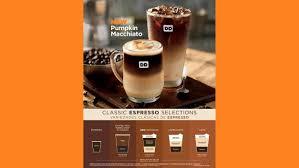 Pumpkin Spice Macchiato Dunkin Donuts Nutrition by Exh991