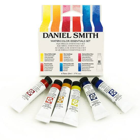 Daniel Smith Watercolor Essentials Kit - 6 Tubes