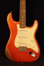 Fender Custom Shop 03962 Super Heavy Relic Stratocaster Orange Flake