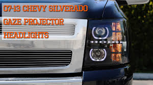 07-13 Chevy Silverado GAZE Halo Projector SMD DRL LED Headlights ... Billet Front End Dress Up Kit With 165mm Rectangular Headlights Dna Motoring For 0306 Chevy Silveradocssicavalanche Led Drl 9902 Silverado 1 Piece Grille Cversion Dash Amazoncom Anzousa 111302 Headlight Assembly Automotive 2019 Chevrolet Top Speed 2007 2013 Truck Halo Install Package Chevy Silverado Ss 12500 Crystal Clear Morimoto Xb Fog Lights Retrofit Source 2017 2500hd Reviews And Rating Motor Trend Canada