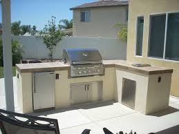 Image Of L Shaped Kitchen Outdoor Cabinets