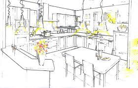 schema cuisine fabrication sur mesure de meubles de cuisine à chemillé melay angers