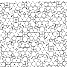 Difficult Geometric Design Coloring Pages