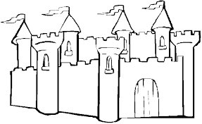 Castle Coloring Pages For Preschool