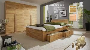 schlafzimmer set schubladenbett 140x200 casade mobila