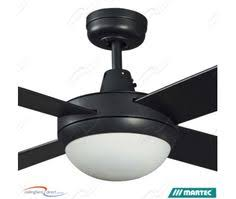 Martec Retractable Blade Ceiling Fan by Beacon Lighting Airfusion Radar 132cm Low Profile Dc Fan Only In