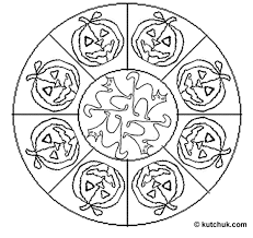 Mandala Halloween Coloring Free Online Printable Pages Sheets For Kids Get The Latest Images Favorite