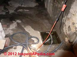 how to get rid of basement water or crawl space water using a sump