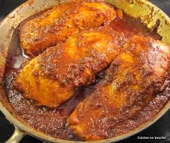 recette de cuisine avec du poisson poisson nord africain à la sauce piquante chreime le de