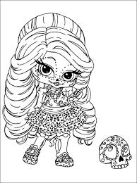 Baby Doll Coloring Pages For Kids
