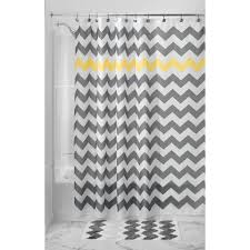 amazon com interdesign chevron shower curtain wide 108 x 72