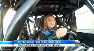 Escape Rosalee Says Being Behind The Wheel Of Monster Truck Is Like You