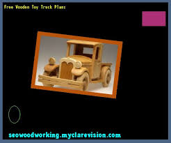 free wooden toy truck plans 090725 woodworking plans and