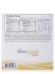 Power Crunch Original Protein Energy Bar French Vanilla Creme
