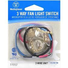 westinghouse lighting corp 3 way fan light switch wall light