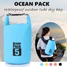 Qoo10 Ocean Pack Waterproof Dry Tube Bag Sling Backpack For