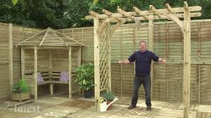 Shed Anchor Kit Bunnings by Features Of Forest U0027s Arch U0026 Arbour Range Youtube