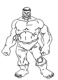 Beautiful The Hulk Coloring Pages 92 For Kids With