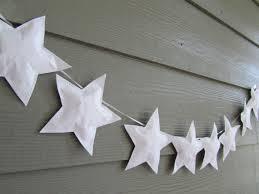 Paper Star Garland Wall Hanging