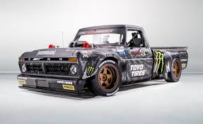 100 New Ford Pickup Trucks Ken Block Shows F150 Hoonitruck For Next Gymkhana Video