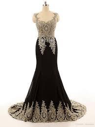sale 2017 jewel collar black gold lace applique beaded custom
