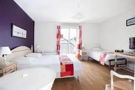 chambre avec bain chambre familiale hôtel 2 étoiles le croisic chambres vue mer le