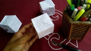 HOW TO MAKE AWESOME SIMPLE EASY AND NICE PAPER THINGS CUBE AT HOME IN SHORT TIME FOR MY BABY