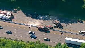 100 Dump Truck For Sale Nj Accident Involving Car And Dump Truck On I78 In Berkeley Heights