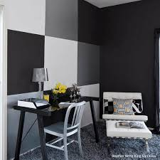 Black And White Wall Painting Ideas