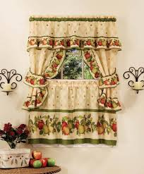 Decor Sets Ideas Image Of Apple Kitchen Curtains
