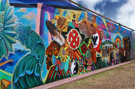 Chicano Park Murals Map by San Diego Chicano Park Russel Ray Photos