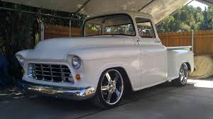 55+chevy+pickup+build | 1955 Chevy Truck ( 2 Year BackYard Rebuild ... 51959 Chevy Truck 1957 Chevrolet Stepside Pickup Short Bed Hot Rod 1955 1956 3100 Fleetside Big Block Cool Truck 180 Best Ideas For Building My 55 Pickup Images On Pinterest Cameo 12 Ton Panel Van Restored And Rare Sale Youtube Duramax Diesel Power Magazine Network Ute V8 Patina Faux Custom In Qld