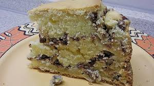 saftiger saure sahne kuchen mit pekannüssen