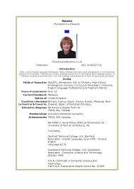 Job Resume Sample Malaysia General Template Example
