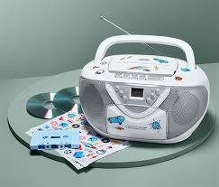 boombox mit radio cd und kassettenlaufwerk