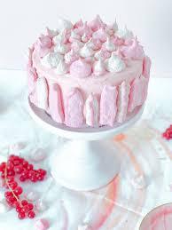 johannisbeer torte mit baiser