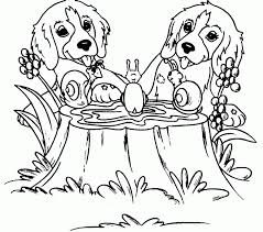 Coloring Pages Dogs Best Adresebitkiselcom