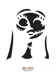 Jack Skellington Pumpkin Stencil by Nightmare Before Christmas Pumpkin Carving Stencils Costume