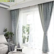 großhandel hellblauer kaffee jacquard vorhang für wohnzimmer küchen schlafzimmer moderne einfache blatt fenster vorhänge gyrotex 6 01 auf