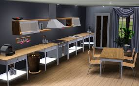 Sims 3 Kitchen Ideas by Mdf Prestige Plain Door Walnut Sims 3 Kitchen Ideas Sink Faucet