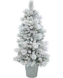 5ft Pre Lit Christmas Tree Sale by New Savings On 5ft Pre Lit Artificial Christmas Tree Potted