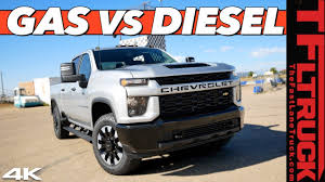 100 Diesel Truck Vs Gas Whats Better And Quicker The New 2020 Chevy Silverado Or Heavy Duty